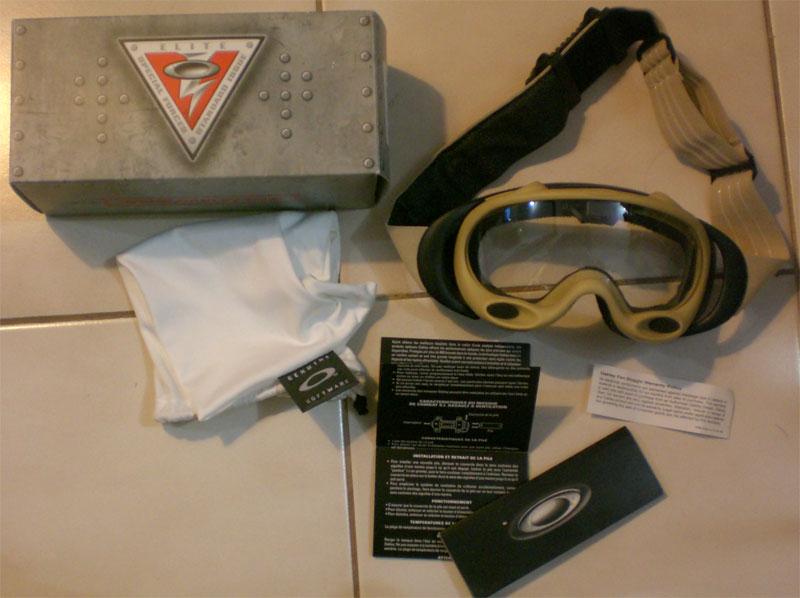 6626e819e5 Oakley Si A Frame Ballistic Fan Goggles « Heritage Malta
